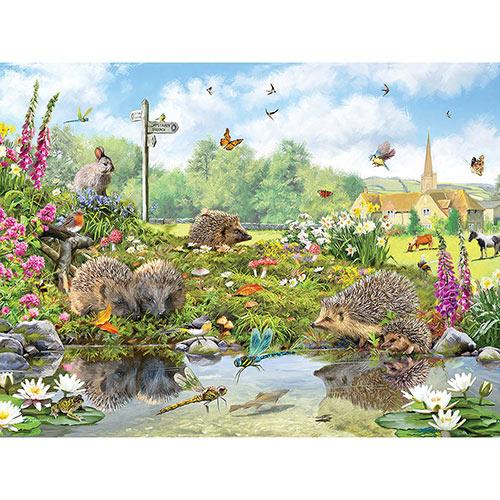 Hedgehogs 1000 Piece Jigsaw Puzzle
