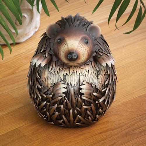 Hector The Hedgehog Metal Garden Sculpture