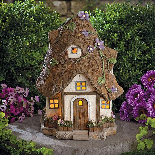 Solar Fairy Cottage