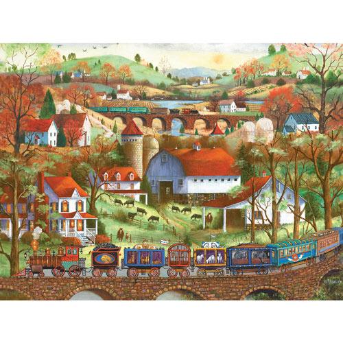 Circus Train 500 Piece Jigsaw Puzzle