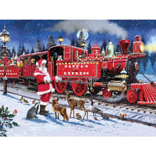 Santa Express 300 Large Piece Jigsaw Puzzle