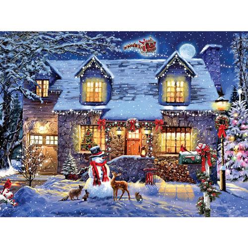 Cottage Glow 300 Large Piece Jigsaw Puzzle
