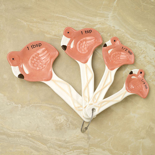Tropical Flamingo Measuring Spoons