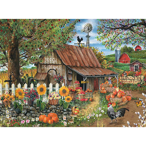 Bountiful Meadow Farm 1000 Piece Jigsaw Puzzle