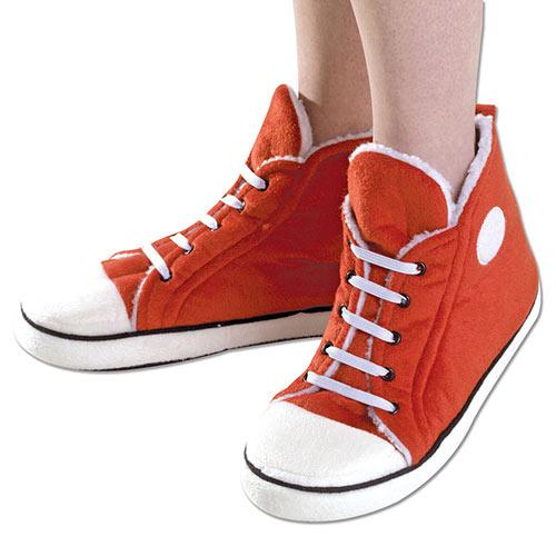 Red Sneaker Slippers