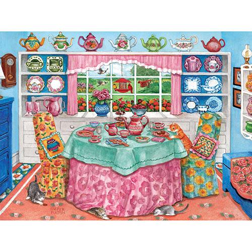 Tea Room 500 Piece Jigsaw Puzzle