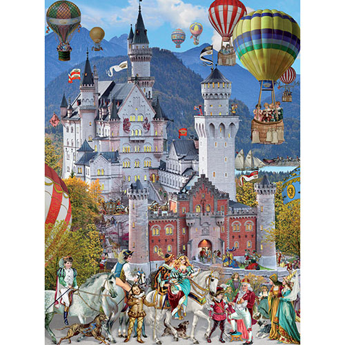 Royal Wedding 300 Large Piece Glitter Jigsaw Puzzle