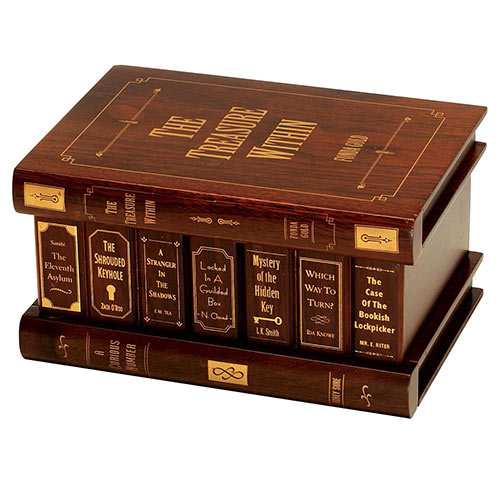 Treasure Within Secret Book Box