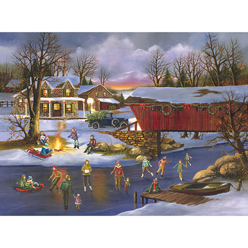 An Old Fashioned Christmas 300 Large Piece Jigsaw Puzzle
