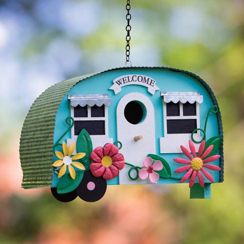 Happy Camper Birdhouse