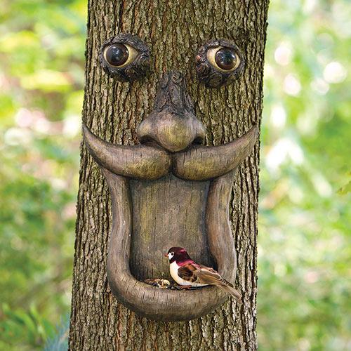 Treeface Birdfeeder Tree Hugger