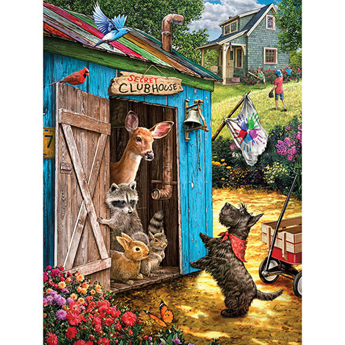 What's the Password? 300 Large Piece Jigsaw Puzzle