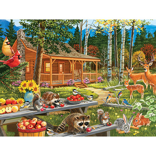 Leftovers for Supper 300 Large Piece Jigsaw Puzzle