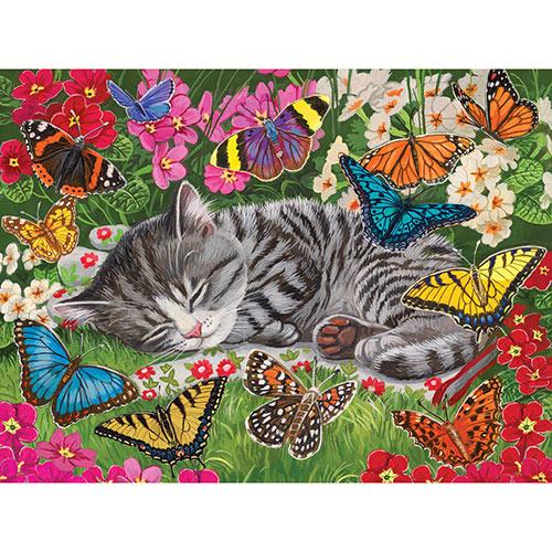 Blanket of Butterflies 500 Piece Jigsaw Puzzle