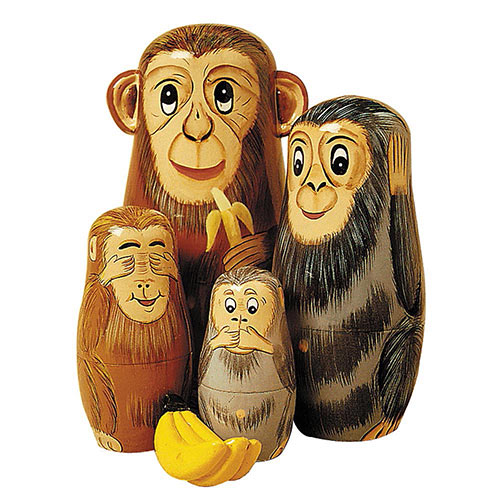 Monkeying Around Animal Set