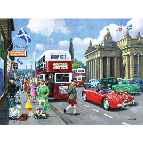 Vintage Edinburgh 500 Piece Jigsaw Puzzle