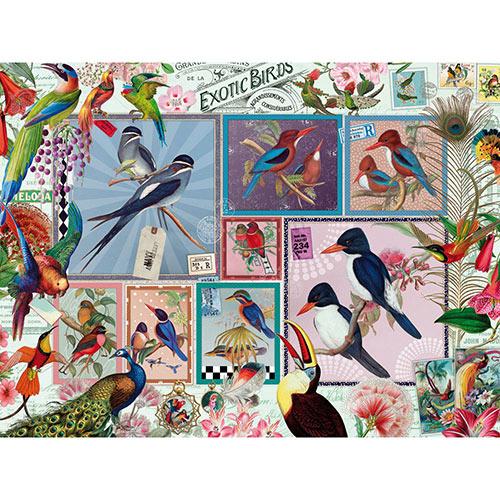 Grand Exotic Birds 1000 Piece Jigsaw Puzzle