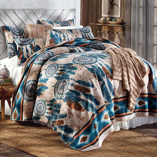 Dream Catcher Fleece Bedding