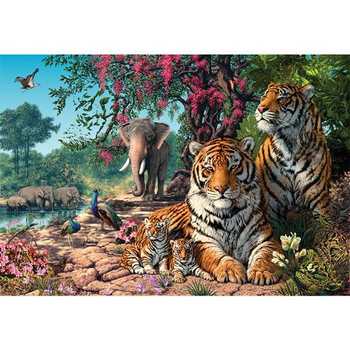 Tiger Sanctuary 1000 Piece Jigsaw Puzzle
