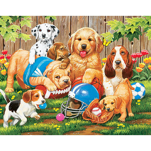 We're Ready Coach 100 Large Piece Jigsaw Puzzle