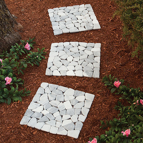 Marble Stepping Stones- Set of 3