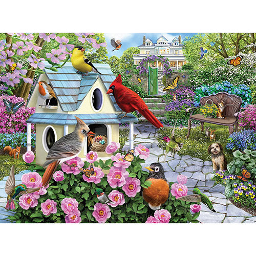 Blooming Gardens 1000 Piece Jigsaw Puzzle