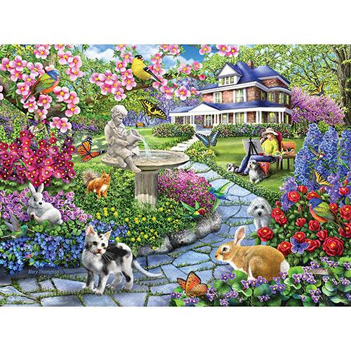 Spring Gardens 1000 Piece Jigsaw Puzzle