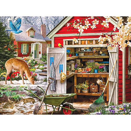 Opening Day 500 Piece Jigsaw Puzzle
