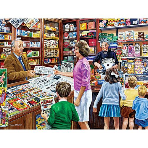 1960's News Agent's Shop 300 Large Piece Jigsaw Puzzle