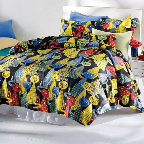Krazy Katz Fleece Blanket