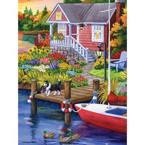 Lakeside Retreat 300 Large Piece Jigsaw Puzzle