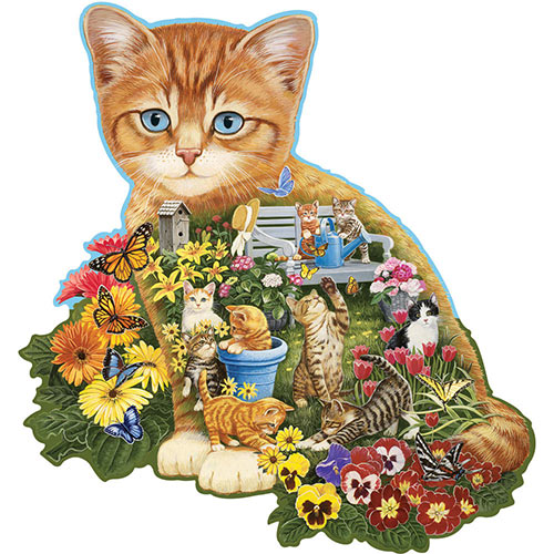 Ginger Kitten 300 Large Piece Shaped Jigsaw Puzzle