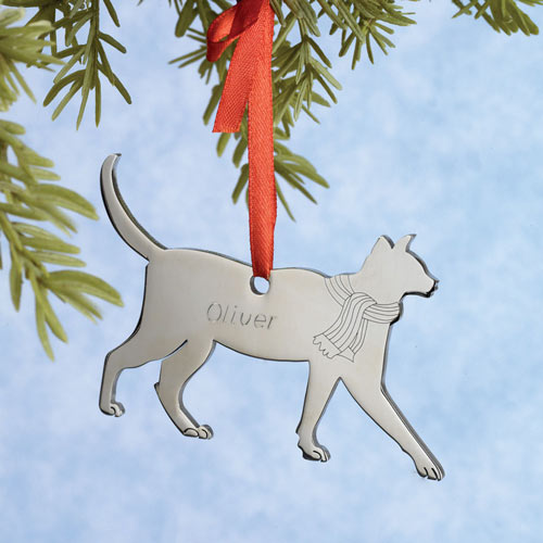Personalized Cat Ornament