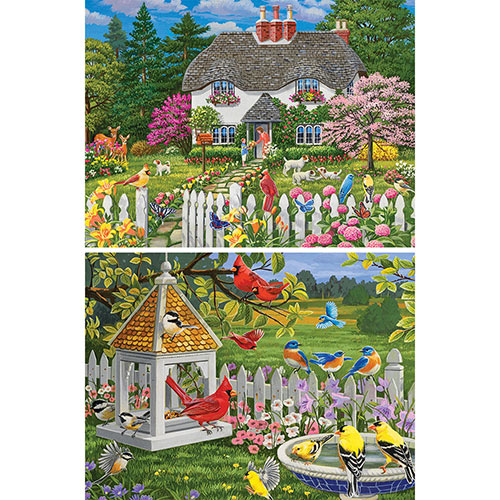Set of 2: William Vanderdasson 500 Piece Jigsaw Puzzles