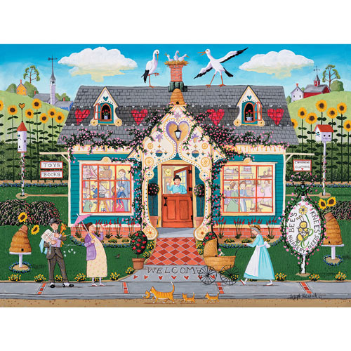 Bee's Knees 300 Large Piece Jigsaw Puzzle