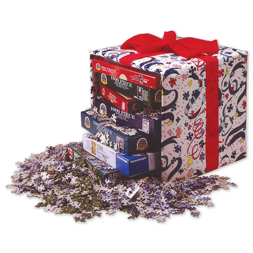 Six 300 Large Piece Jigsaw Value Pack