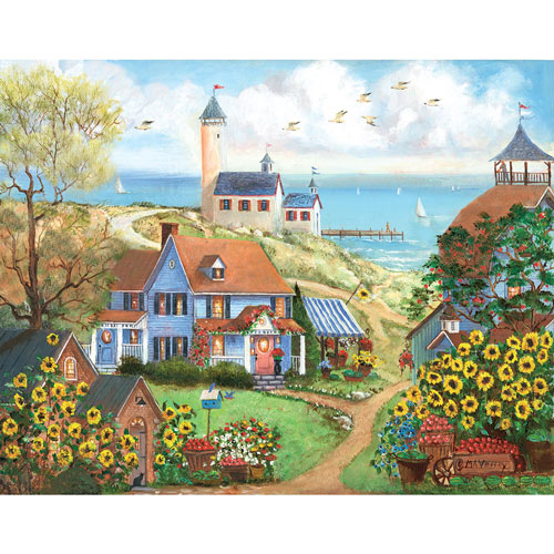 Beach Market 300 Large Piece Jigsaw Puzzle