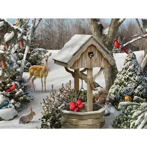 Winter Wishes II 500 Piece Jigsaw Puzzle