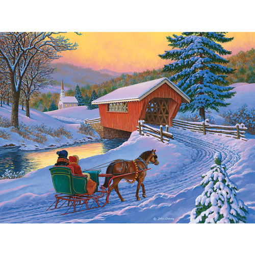 Golden Moments 500 Piece Jigsaw Puzzle