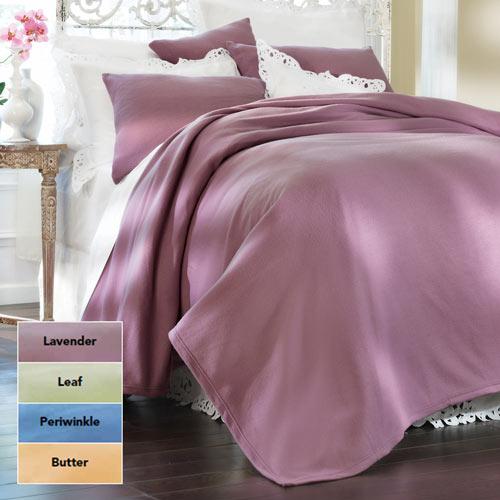 Solid Fleece Twin Blankets