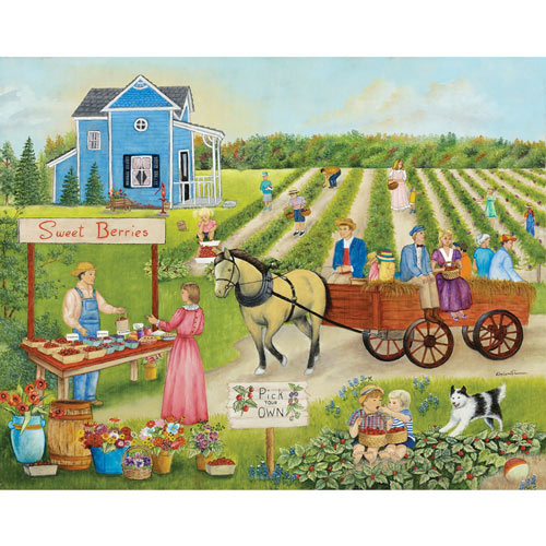 Pick Your Own 500 Piece Jigsaw Puzzle