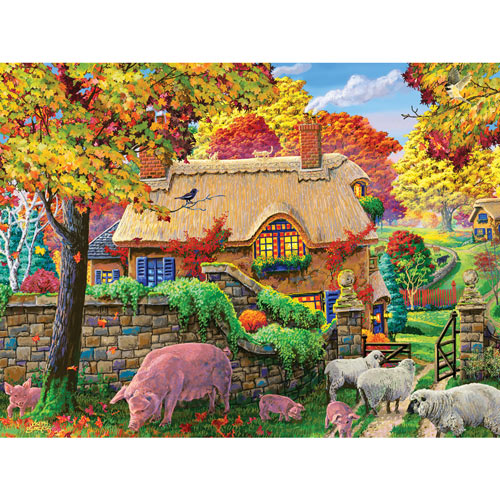 Autumn Tranquility 300 Large Piece Jigsaw Puzzle