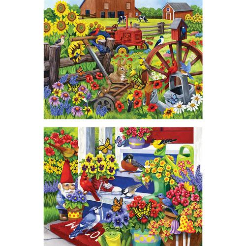 Set of 2: Nancy Wernersbach 500 Piece Jigsaw Puzzle