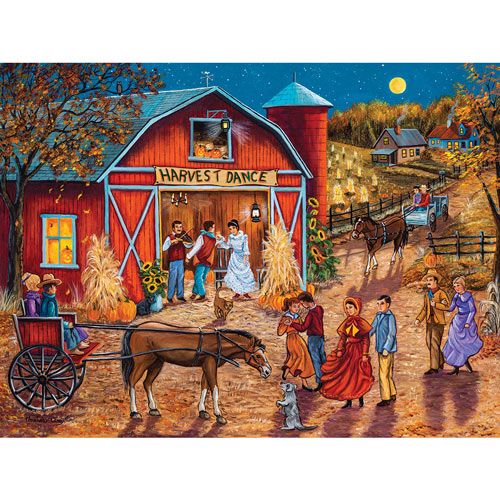 Mark's Harvest Jamboree 500 Piece Jigsaw Puzzle