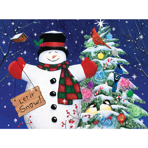 Let It Snow 1000 Piece Jigsaw Puzzle