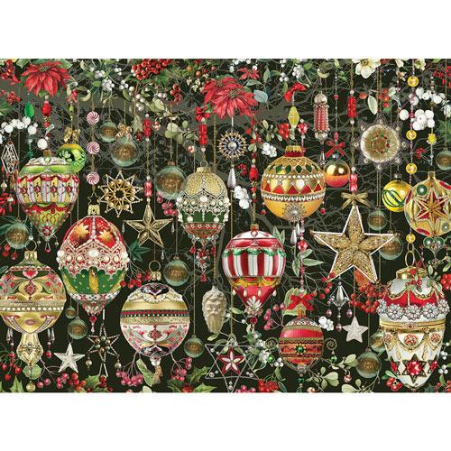 Christmas Ornaments 1000 Piece Jigsaw Puzzle