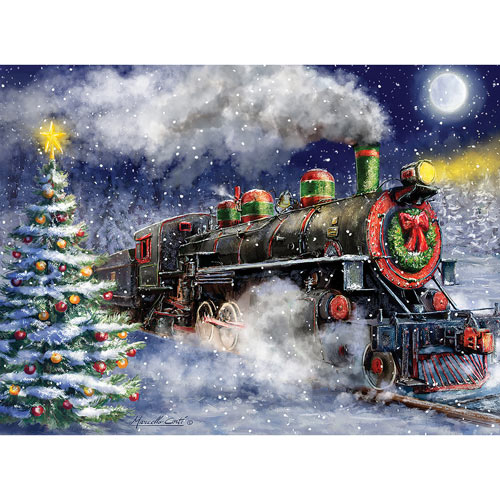 Express Train To Christmas 300 Large Piece Jigsaw Puzzle