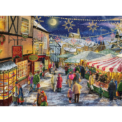 Christmas Festival 300 Large Piece Jigsaw Puzzle