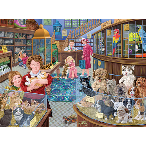 Newest Member Of The Family 300 Large Piece Jigsaw Puzzle