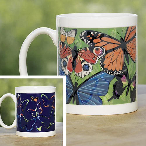 Color Changing Butterfly Mug